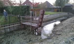 Hardhouten ophaalbrug 2
